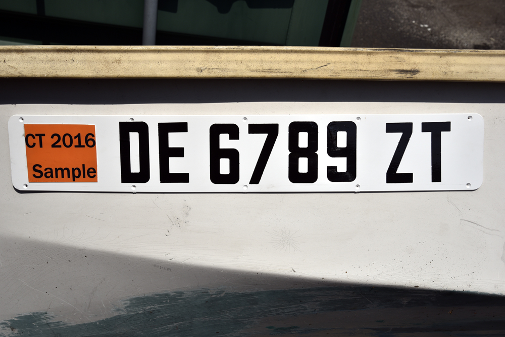 Bernard Registration Number Plates